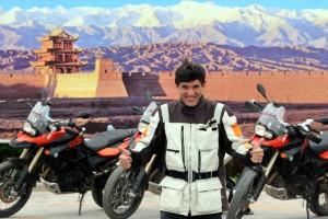 Viajar en moto con Gustavo Cuervo